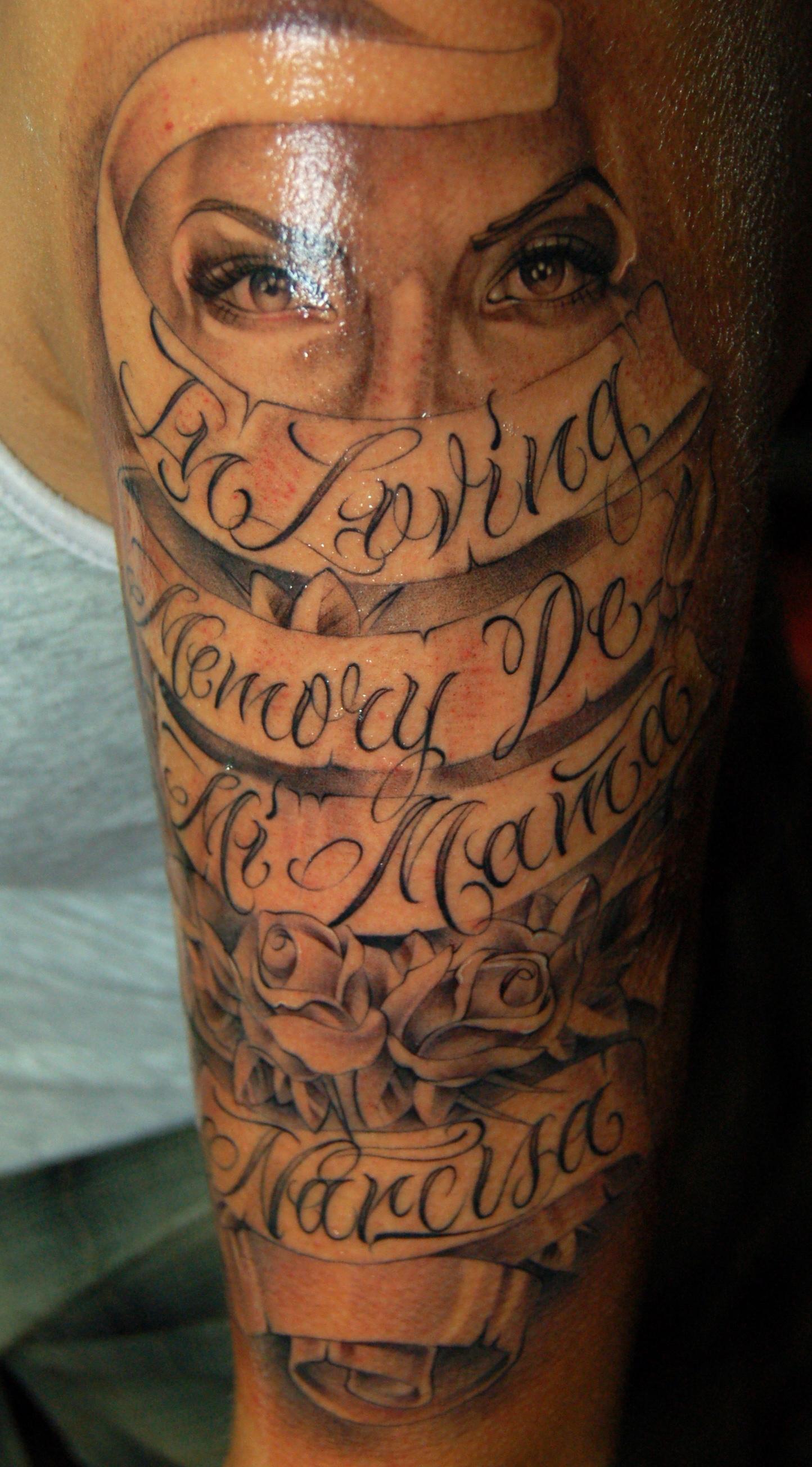 Script tattoo noah minuskin for Black african queen tattoos